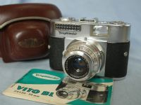 '  BL ' Voigtlander Vito BL Camera c/w Color Skopar 50MM --F2.8-- Lens CASED + Inst £19.99
